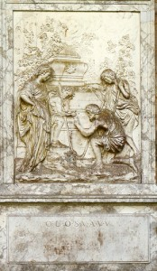 Bas-relief poussin