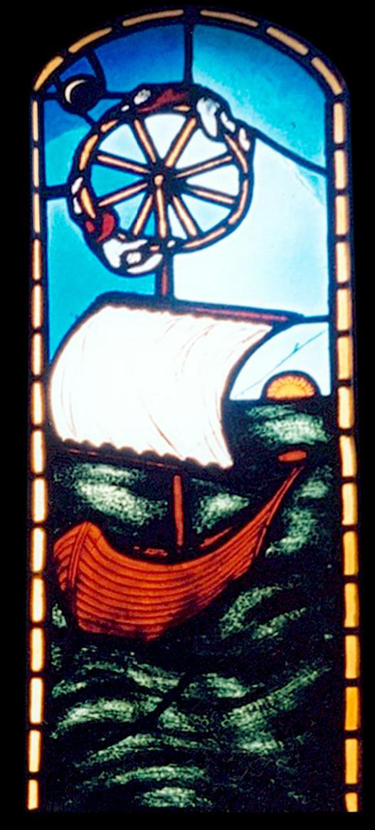 Bugarach vitrail