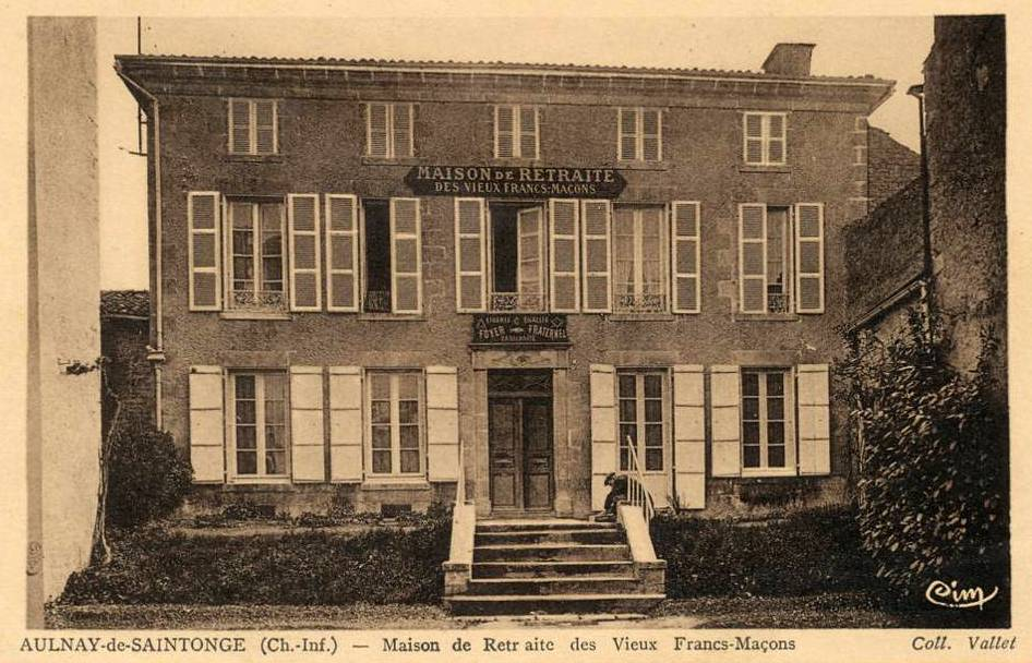 Maison de retraite des vieux F.M. (Aulnay Charente-Maritime) 1