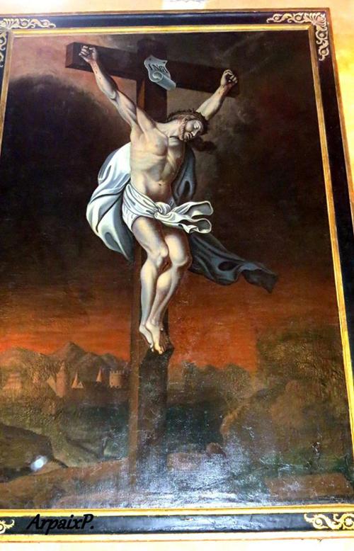 Crucifixion Pieusse