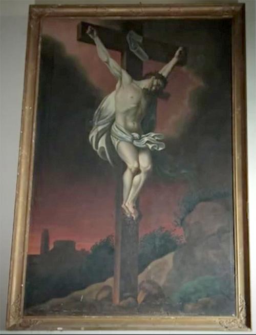 Crucifixion Rennes les Bains